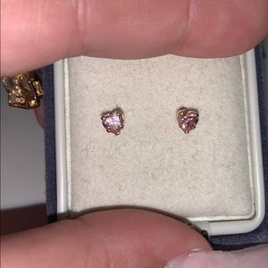 14kt pink hearts